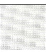 Antique White 20ct Aida 18x21 cross stitch fabric Zweigart - $7.65