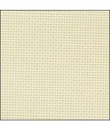 Ivory 20ct Aida 36x43 cross stitch fabric Zweigart - $30.60