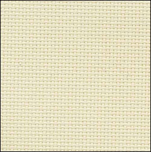 Ivory 20ct Aida 36x21 cross stitch fabric Zweigart - $15.30