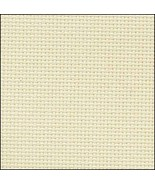 Ivory 20ct Aida 18x21 cross stitch fabric Zweigart - $7.65