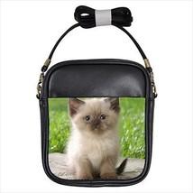 Himalayan Leather Sling Bag & Women's Handbag - Cat Kitten - $14.54+