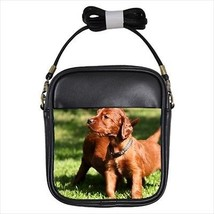 Irish Terrier Leather Sling Bag & Women's Handbag - Dog Canine - $14.54+