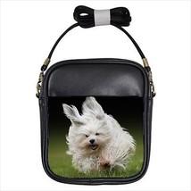 Havanese Leather Sling Bag & Women's Handbag - Dog Canine - $14.54+