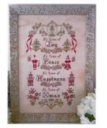 Il Tempo di Natale cross stitch chart Cuore e Batticuore  - $14.40