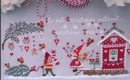 None Natale senza Albero di Natale cross stitch chart Cuore e Batticuore  - $11.70
