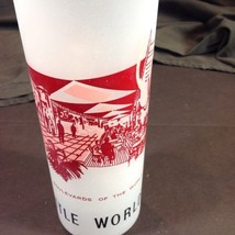 Seattle Worlds Fair Frosted Glass 1962 Boulevar... - $19.31