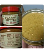 Trader Joe Crunchy Salted Peanut Butter with Flax and Chia Seeds - $8.95