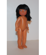 "Fibre Craft World Friends 8"" Native American Little Girl - Daughter Doll... - $7.69"