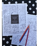 Seasons Coloring Pages 8pcs adult coloring art drawing Amy Bruecken Desi... - £12.11 GBP