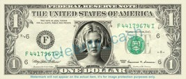 DREW BARRYMORE on REAL Dollar Bill Cash Money Bank Note Currency Dinero ... - $4.44