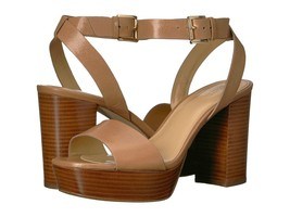 Women MICHAEL Michael Kors Leonora Ankle Strap Sandals, Sizes 8-10 Cashew - $119.95