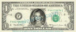 HEATHER GRAHAM on REAL Dollar Bill Cash Money Bank Note Currency Dinero ... - $4.44