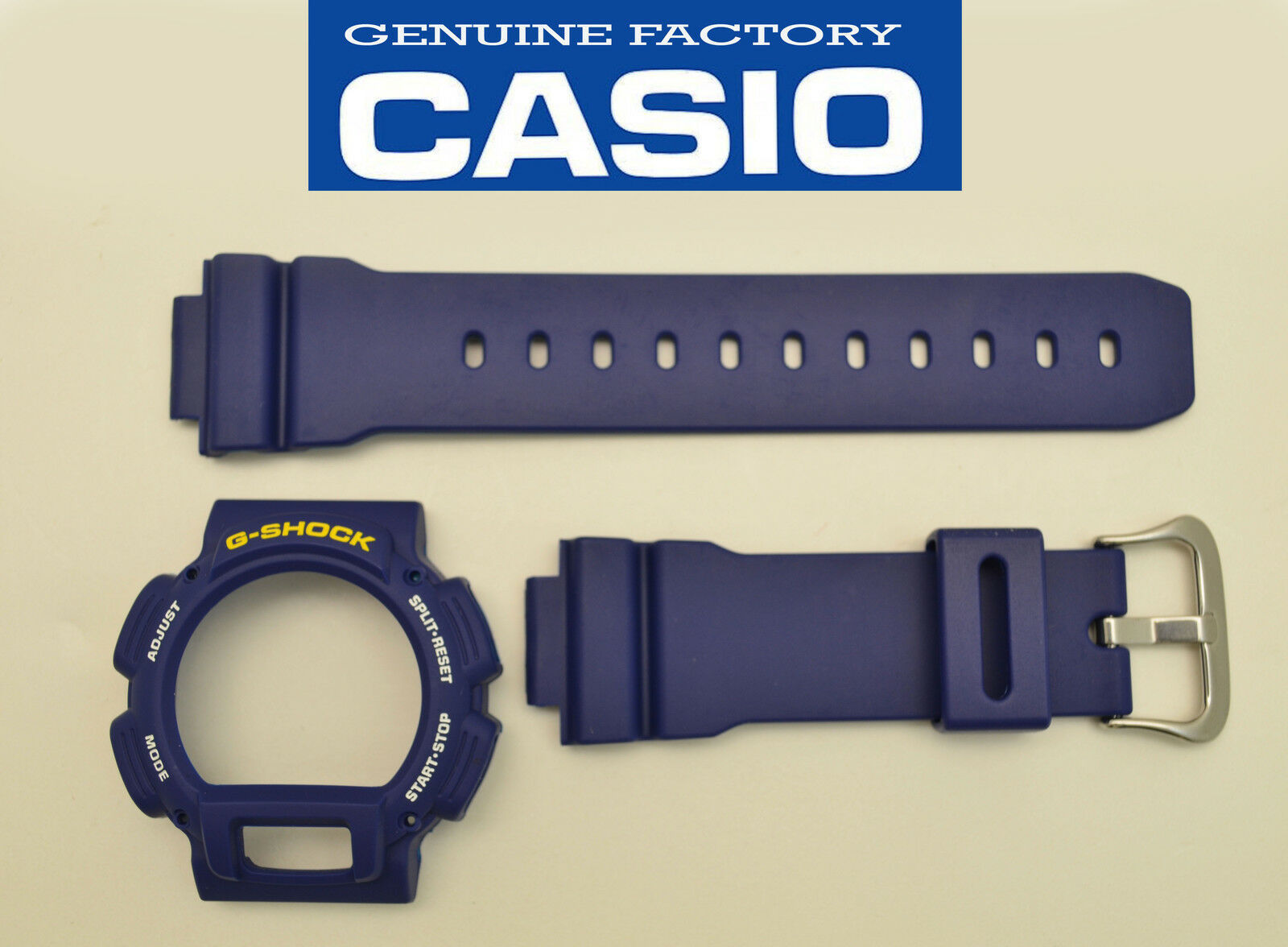 Primary image for Casio G-Shock Strap DW-9052 DW-9050 DW-9051 BLUE Watch Band & Bezel Case cover