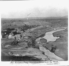 Knight's Ferry, Stanislaus River from the West, Stanislaus County [Kitchen] - $12.99