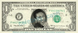Jada Pinkett Smith On Real Dollar Bill Cash Money Bank Note Currency Dinero Cele - $4.44