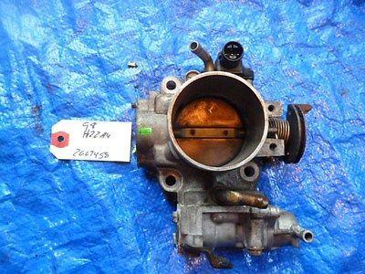 97-01 Honda Prelude bare H22 throttle body assembly OEM H22A H22A4 VTEC P13