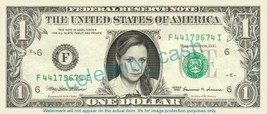 Jenna Fischer Pam Beesly Halper The Office On Real Dollar Bill Cash Money Bank N - $4.44