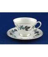 Royal Doulton Burgundy Tea Coffee Cup & Saucer TC1001 China - $6.99