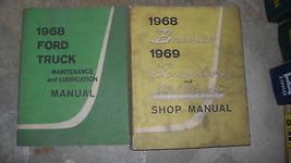 1968 Ford Truck Shop Service Repair Shop Manual Set OEM BOOK 1968  - $89.08