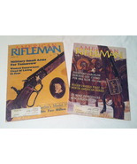 Lot of 2 American Rifleman magazines back issues vintage January 1984 Ju... - $3.00