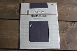 Vintage NWT Sharon Ultra Sheer P/M 100-140lbs Pantyhose Grey - $9.90