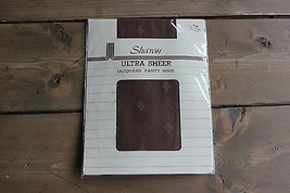 Vintage NWT Sharon Jacquard Ultra Sheer P/M 100-140lbs Pantyhose French ... - $9.90