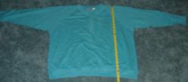 Women's Newport News Blue Pullover Top Size L Euc - $9.99