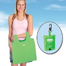 EZ RECYCLE BAG ECO BAG IN CLIP POUCH RECYCLE SHOPPING BAG GREEN SHOPPING... - $8.95