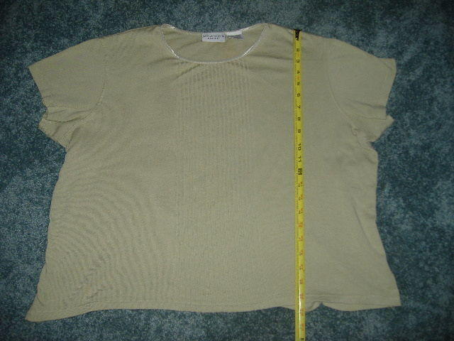 Jaclyn Smith Classic Green Pullover Top Size And 39 Similar Items