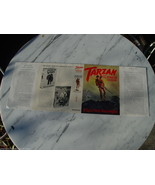Burroughs TARZAN AND THE FOREIGN LEGION dust jacket, original, for 1st e... - $125.00