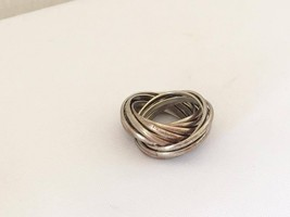 Vintage Jewelry Multi Band Ring Size 5 - $12.00