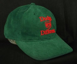 Dodge Different Green Baseball Cap Hat Western Slope Dodge EUC Box Shipped - $19.99