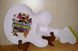 Hard Rock Hotel Cafe Roxtars 2014 Guitar Shaped Kids Dinner Food Plate M... - $12.59