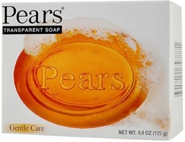 Pears Gentle Care Transparent Bar Soap 3.5 oz (100g) New. - $7.85