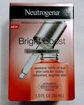 Neutrogena Bright Boost illumunating Serum 1.0 Fl OZ New - $10.85