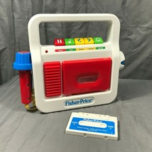 Mattel Fisher Price Play Cassette Player Recorder Childrens Toy  #02178 ... - $24.95