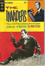 The Invaders TV Series #3 Gold Key Comic Book 1968 VF+ - $57.93