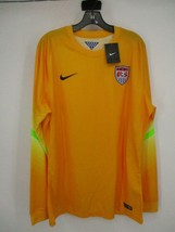 Nike 2014 USA Soccer Long Sleeve GK Goalkeeper Jersey 578659 716 Size XL *New* - $53.22