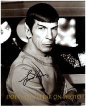 LEONARD NIMOY Signed Autographed 8X10 Photo w/ Certificate of Authenticity 6047 - $65.00
