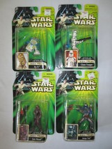 Star Wars 2001 Attack of the Clones Sneak Preview Lot 4 Wessell R3-T7 Fe... - $36.00