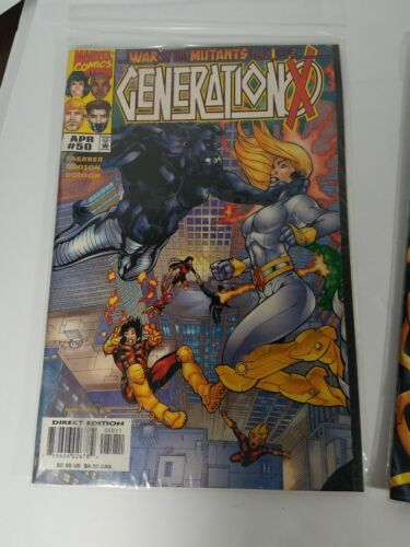 Comic Books Run Generation X Issues 50 To 58 With Issue 61 Thrown In Marvel