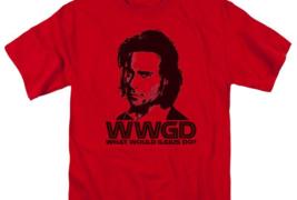 Battlestar Galactica WWGD Sci-Fi TV series graphic red adult t-shirt BSG220 image 3