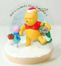 Hallmark Keepsake Ornament True Friends Winnie The Pooh Series 2005 - $14.84