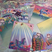 90s Lisa Frank Stickers Stationery Lot Dolphins Max Whale Penguins Roary Seal image 2
