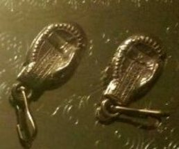 "Pair of 1930s ""Golden Gloves"" Boxing Glove Gumball Charms - $8.95"