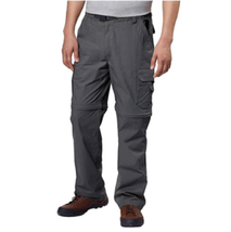BC Clothing Men's Convertible Pant with Stretch, Color: Charcoal,  XXL -... - $22.99