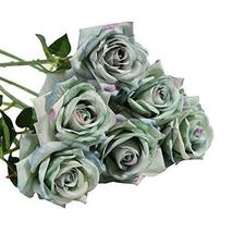 Koala Superstore New European Style 10 Heads Fake Flowers Artificial Roses for D - $22.62