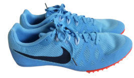 Nike Zoom Rival Racing Shoe Men Size 11.5 M 806555-446 Track Spike Cleat Running - $38.98