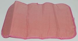 NGIL GUA2121 Quilted Pink Striped Vine Print Coral Green Diaper Bag image 6