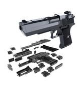 DIY Building Blocks Toy Gun Desert Eagle Assembly Brain Game Model Can Fire - $15.70